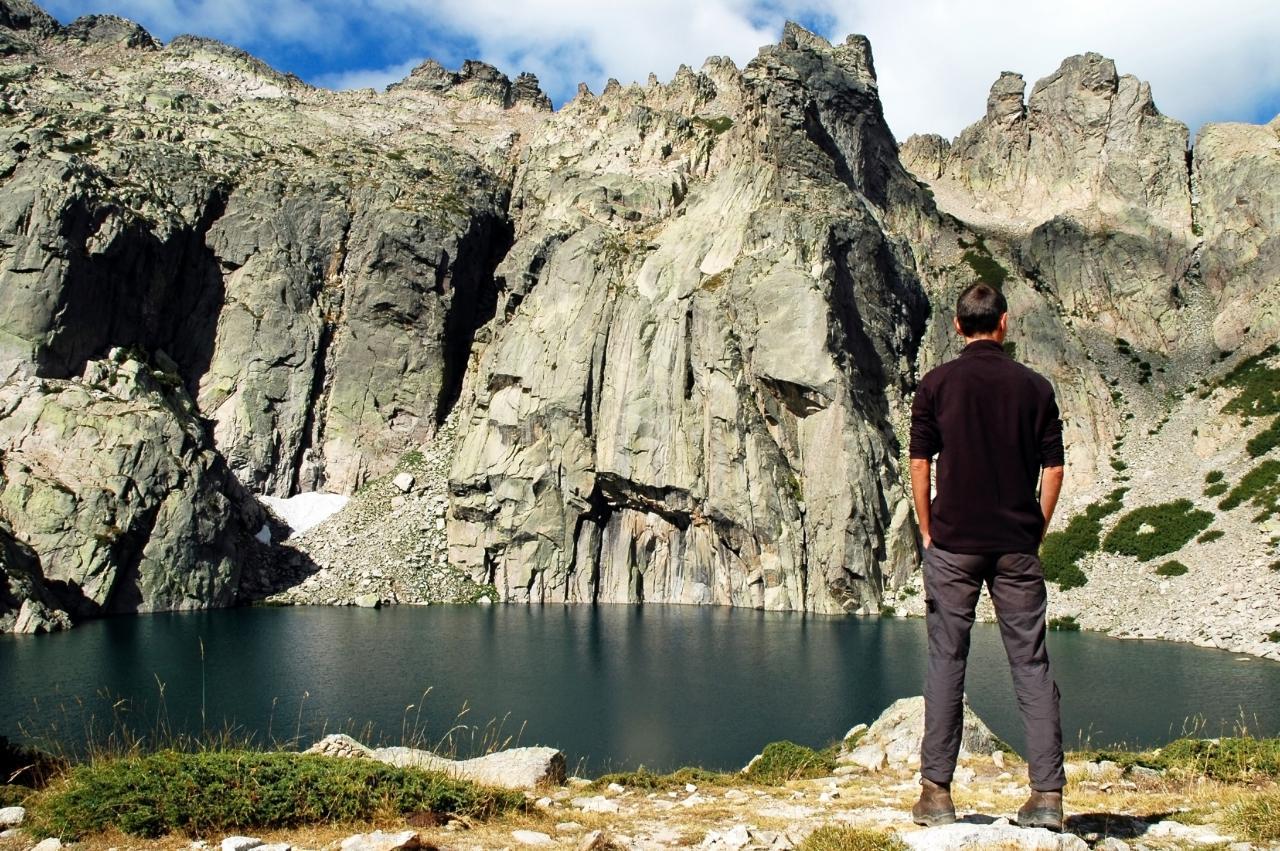 Lac sur le GR20